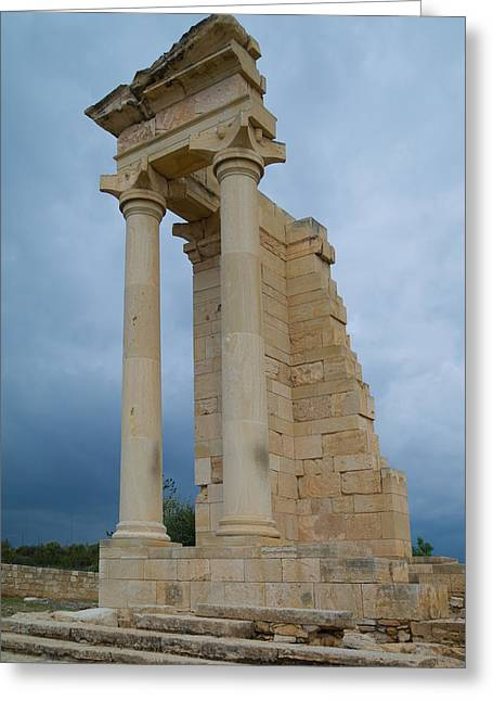 Temple Of Apollo Greeting Card