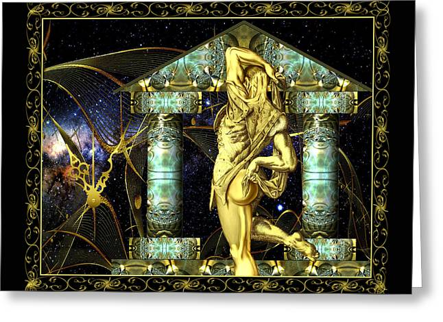 Temple Of Eternity Greeting Card