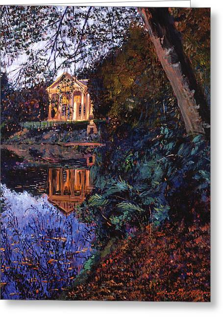 Temple Of Flora Greeting Card by David Lloyd Glover