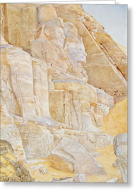 Temple Of Ramses II Greeting Card