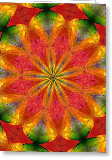 Ten Minute Art 090610-a Greeting Card by David Lane