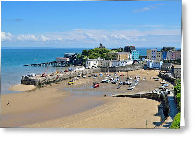 Tenby 1 Greeting Card