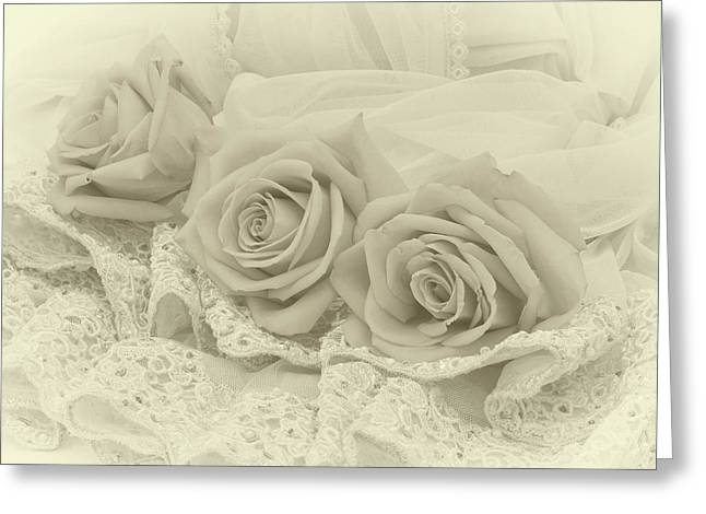 Tenderness Greeting Card by Sandra Foster