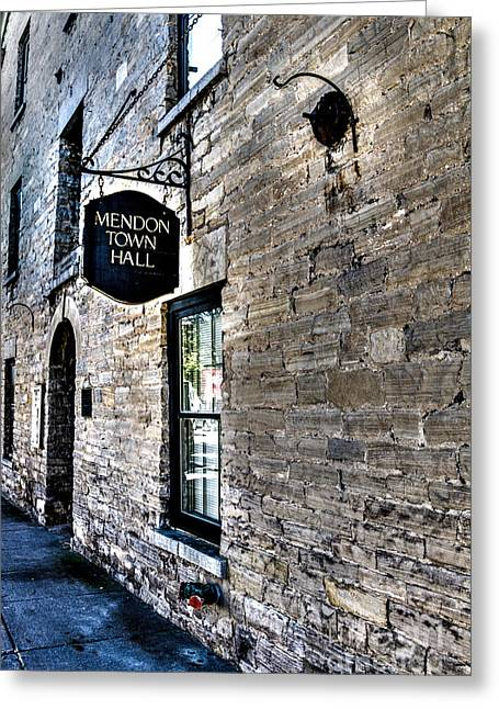 Mendon Town Hall Greeting Card