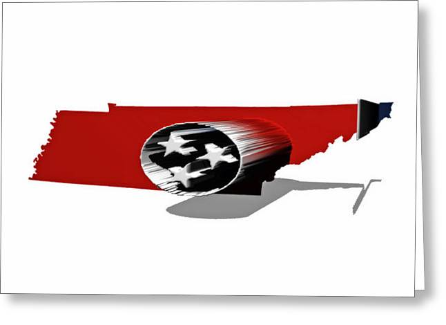 Tennessee 6b Greeting Card by Brian Reaves