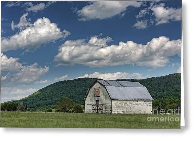 Tennessee Barn Quilt Greeting Card