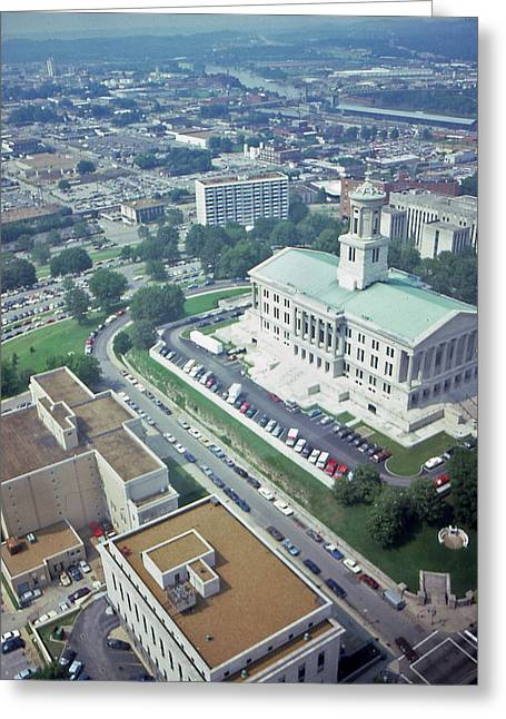 Tennessee Capital Greeting Card by Randy Muir