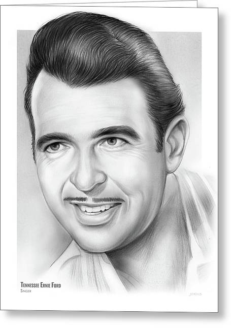 Tennessee Ernie Ford Greeting Card