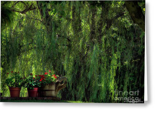 Tennessee Garden Greeting Card