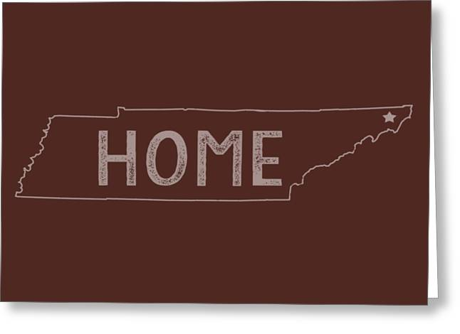 Tennessee Home Greeting Card