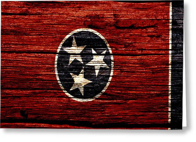 Tennessee State Flag 1w Greeting Card by Brian Reaves