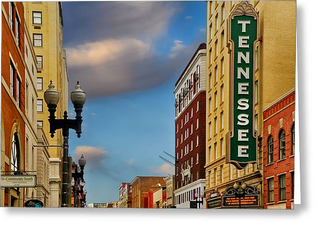 Tennessee Theatre Greeting Card by Steven  Michael