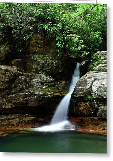 Tennessee's Blue Hole Falls Greeting Card