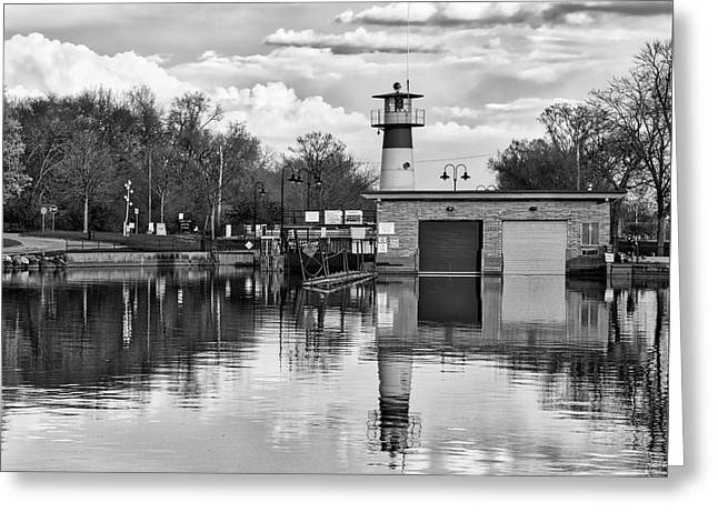 Tenney Lock 3 - Madison - Wisconsin Greeting Card