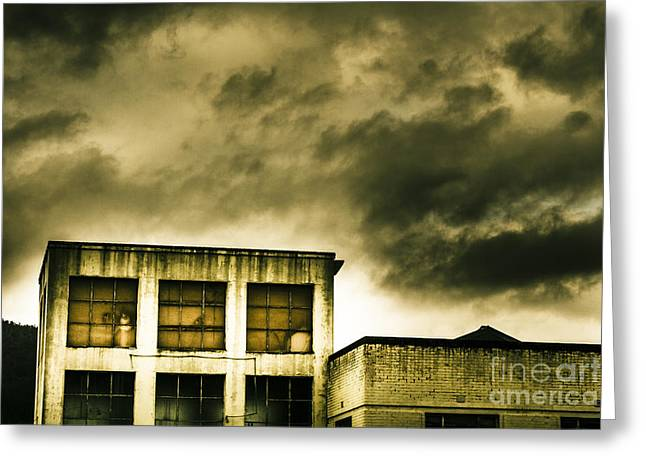 Tension Building Greeting Card by Jorgo Photography - Wall Art Gallery