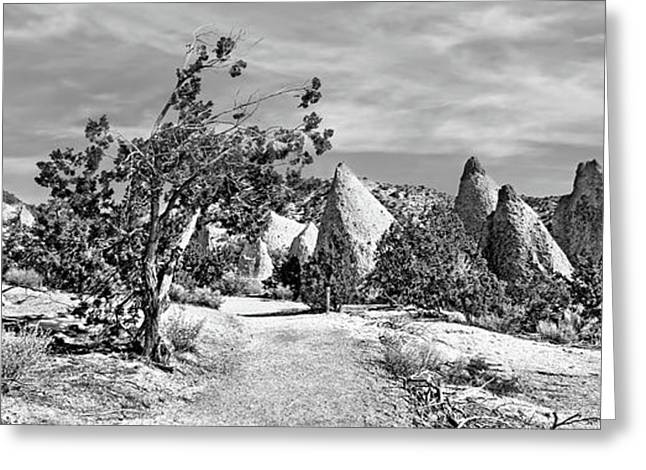 Tent Rocks - Triptych Greeting Card