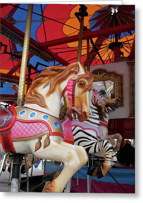 Tented Carousel Greeting Card