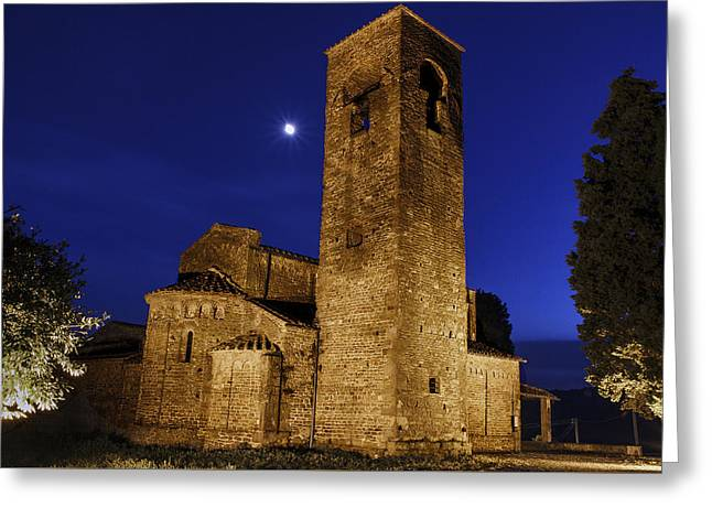 Tenth Century Church In Artimino Greeting Card by Rick Starbuck