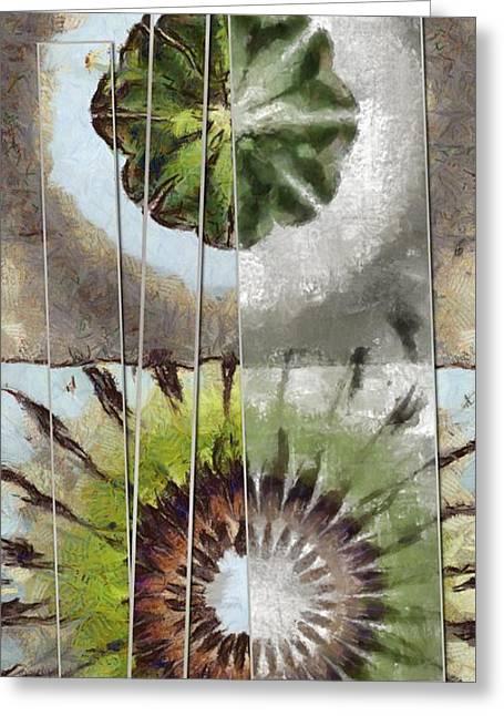 Tequila Threadbare Flowers  Id 16165-172144-89891 Greeting Card by S Lurk