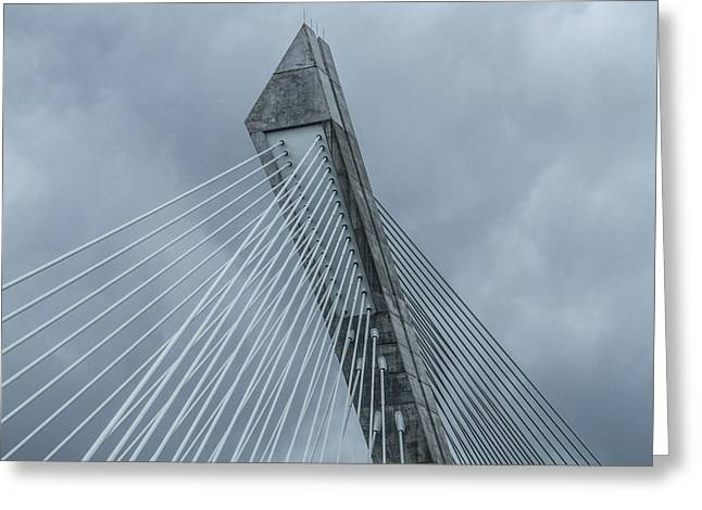 Terenez Bridge II Greeting Card