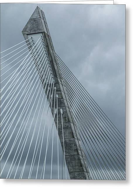 Terenez Bridge IIi Greeting Card