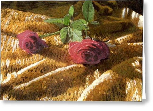 Teri's Roses Greeting Card
