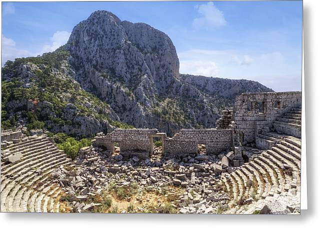 Termessos - Antalya Greeting Card by Joana Kruse