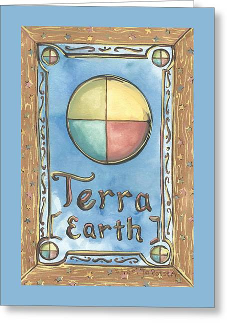 Terra Greeting Card