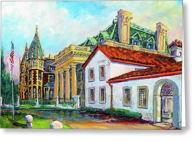 Terrace Villas Greeting Card