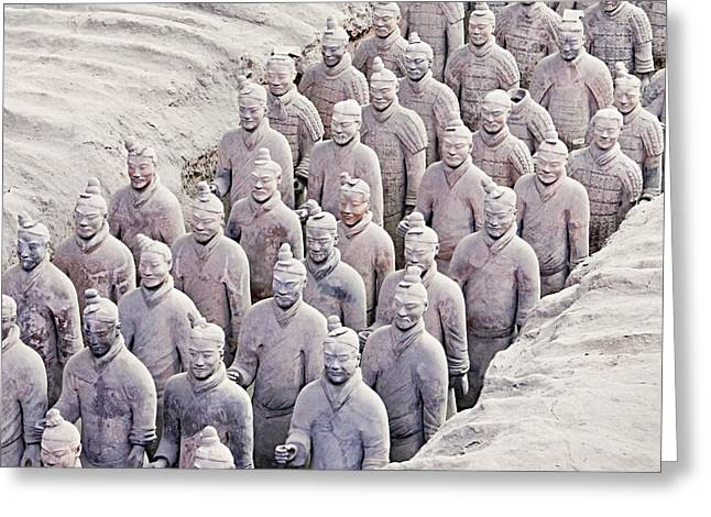 Terracotta Warriors Greeting Card