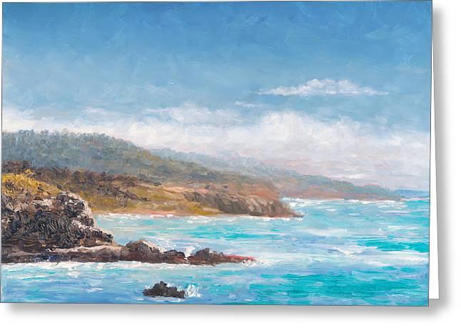 Terranea Pacific View Greeting Card