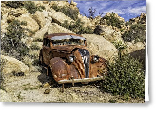 Terraplane Hudson  Greeting Card