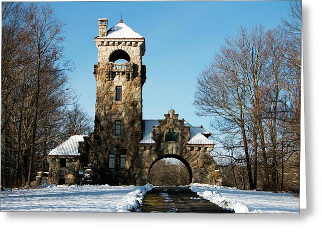 Testimonial Gateway In December Greeting Card by Jeff Severson