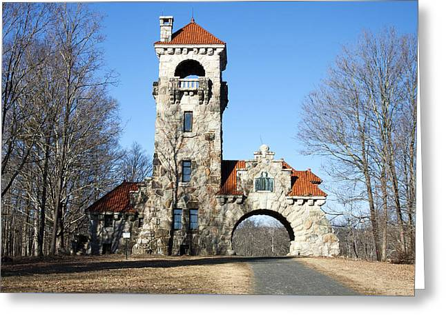 Testimonial Gateway Tower #1 Greeting Card by Jeff Severson