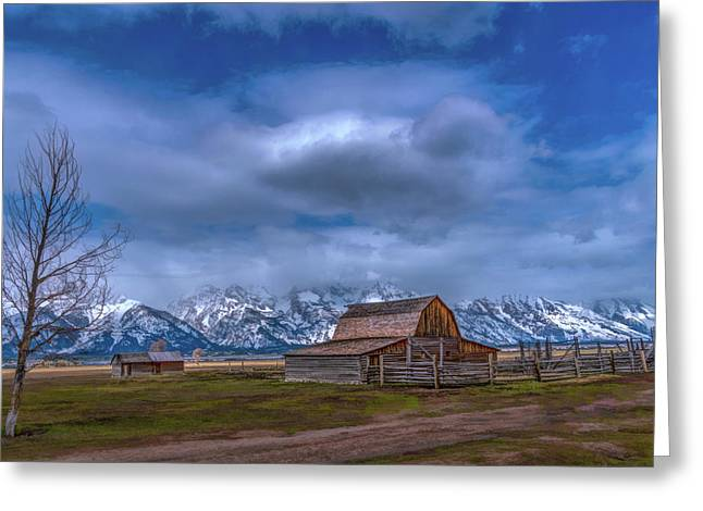 Teton National Park Mormon Row Greeting Card