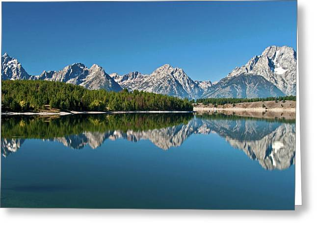 Greeting Card featuring the photograph Teton Reflections II by Gary Lengyel