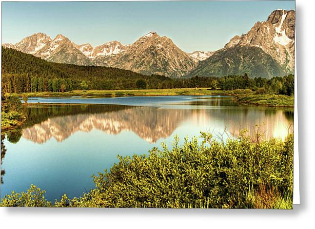 Teton Reflections Greeting Card