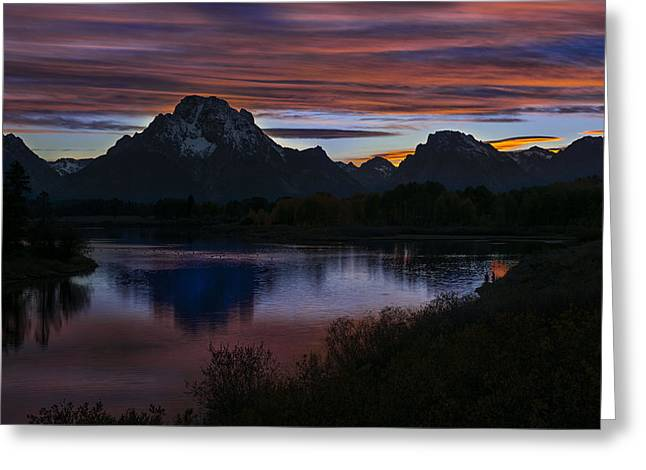Tetons Greeting Card