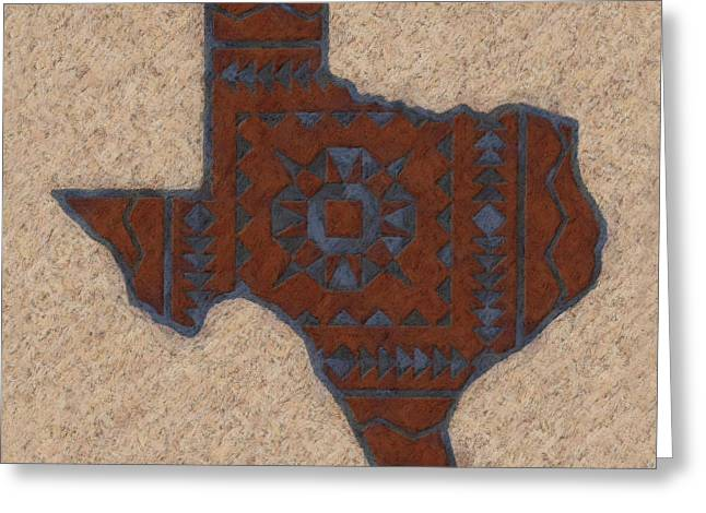 Texas 1 Greeting Card