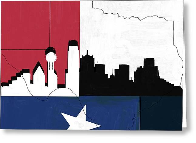 Texas 542 3 Greeting Card by Mawra Tahreem