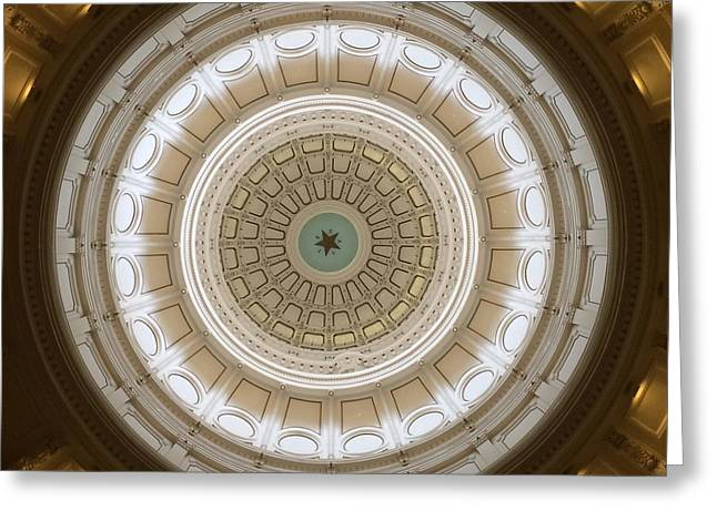 Greeting Card featuring the photograph Texas Capital by Robert Meanor