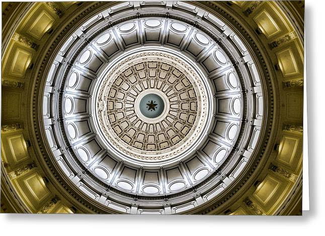 Texas Capitol Dome Greeting Card