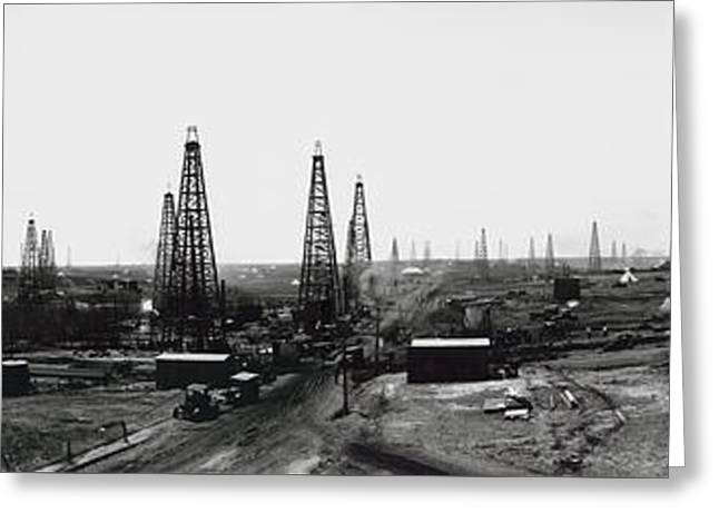 Texas Crude 1919 Greeting Card by Daniel Hagerman