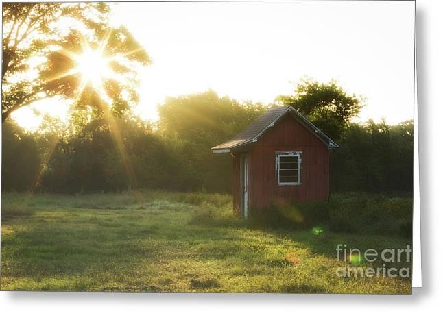 Texas Farm Greeting Card