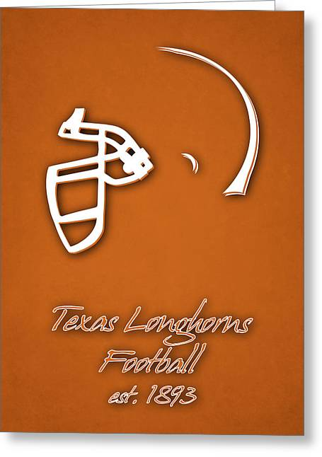 Texas Longhorns Greeting Card by Joe Hamilton
