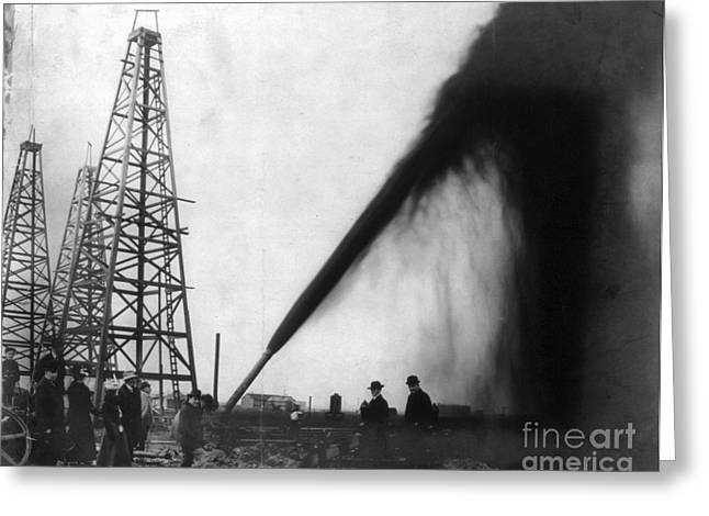 Texas: Oil Derrick, C1901 Greeting Card by Granger