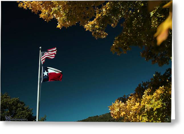 Texas Pride Greeting Card by Karen Musick