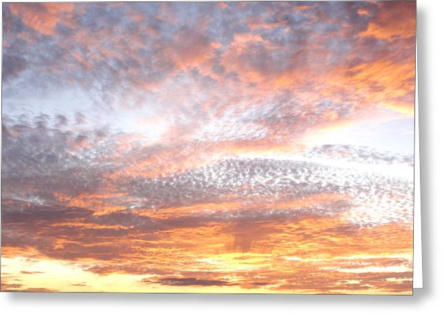 Texas Sky Greeting Card by Ursula Wright
