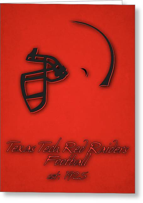 Texas Tech Red Raiders Greeting Card by Joe Hamilton