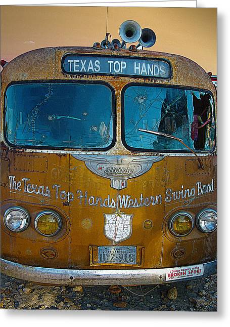 Texas Top Hands Greeting Card